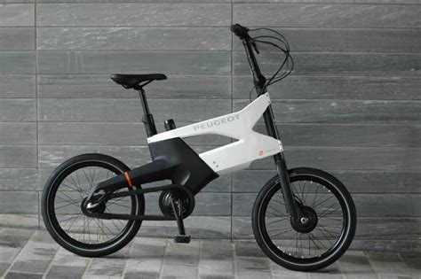 Peugeot Cycles Reveals Ae21 Hybrid Bike Car Body Design