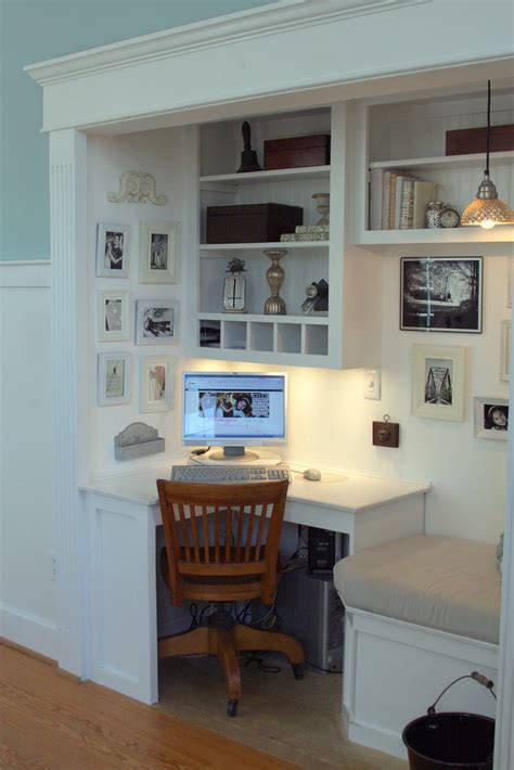 delightful home office with a strong personal touch