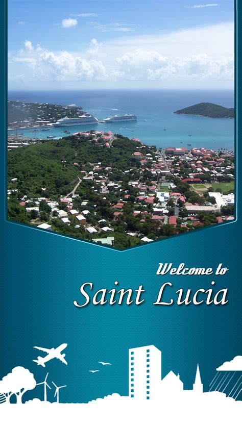 st lucia the official travel guide books app shopper lucia travel guide travel