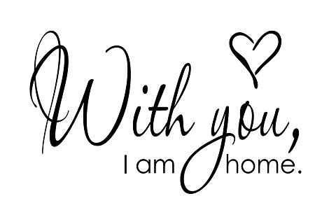 with you i am home 11 quot x 17 quot