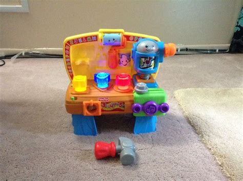 fisher price laugh and learn work bench fisher price laugh and learn learning workbench baby kids in bloomingdale il