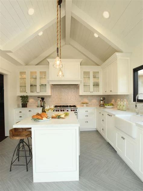 white cottage kitchen small home kitchen hgtv