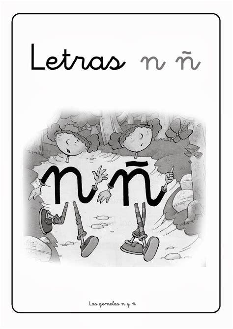 N Y La by Letra 209 241 La Eduteca Libreta Interactiva Letras