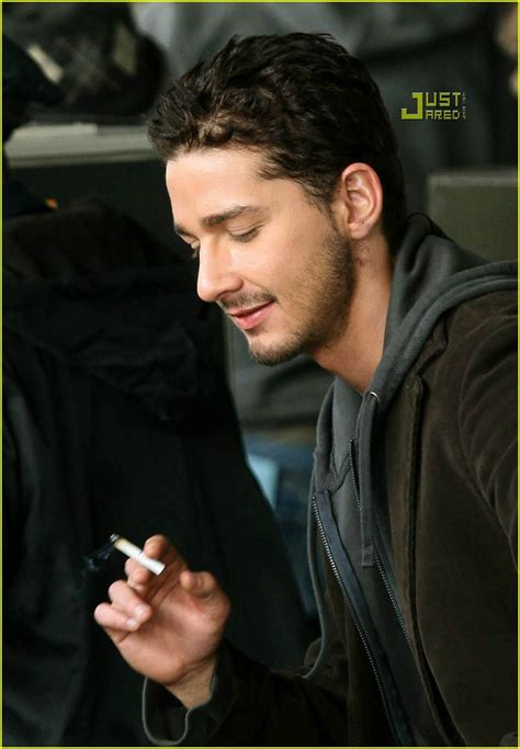full sized photo of shia smoking 01 photo 761981 just
