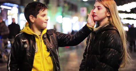 What Happens When You Put A Boy In Front Of A Girl And Ask Him To Slap Her