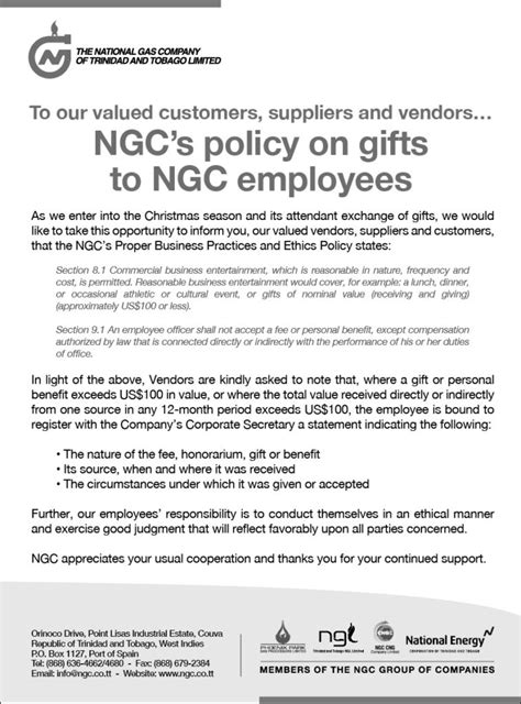 Gift Letter Hud Ngc S Policy On Gifts To Ngc Employees Ngc