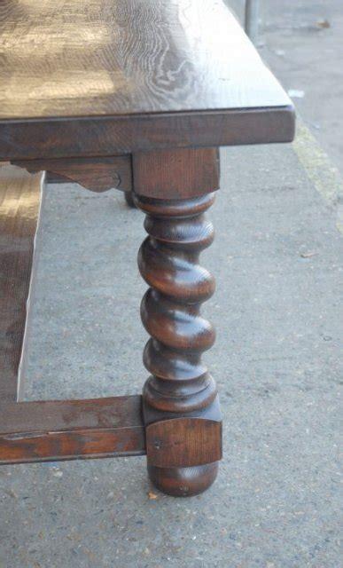 barley twist table legs for sale rustic refectory table with barley twist legs for