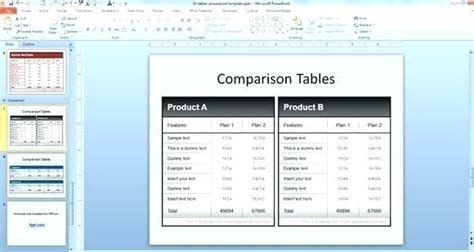 side by side comparison template excel side by side comparison template excel comparison table