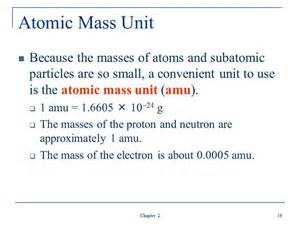 Mass Of One Proton Ch 2 Slides As Flashcards For 09 04 2012 Chemistry 100