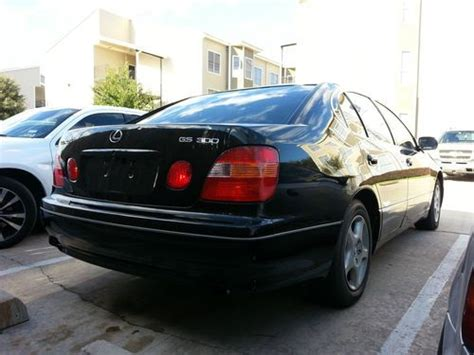 how make cars 1999 lexus gs auto manual sell used 1999 lexus gs300 in houston texas united states for us 4 500 00