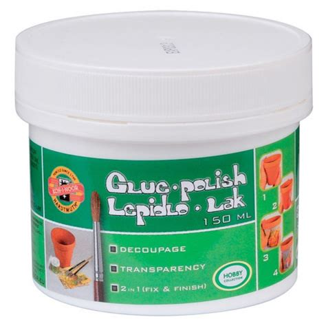 Msc Decoupage Glue - glue decoupage 2in1 150 ml koh i noor kin150510
