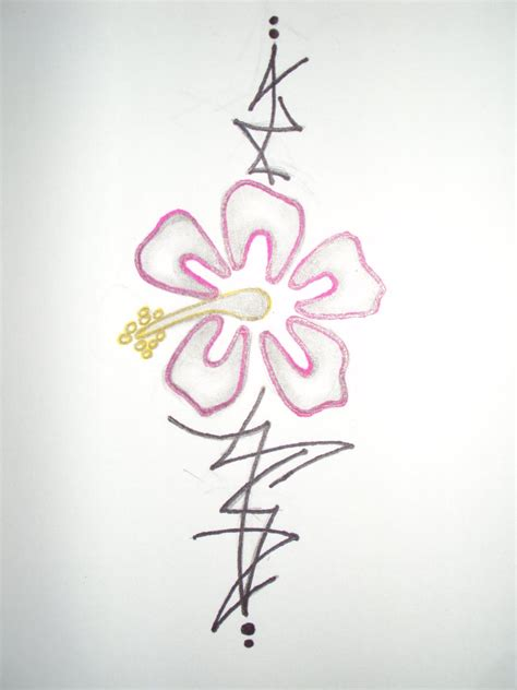 pinstripe tattoo designs hibiscus pinstripe by poisoned painter on deviantart