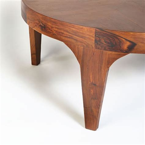 aiden coffee table aiden wood coffee table west elm