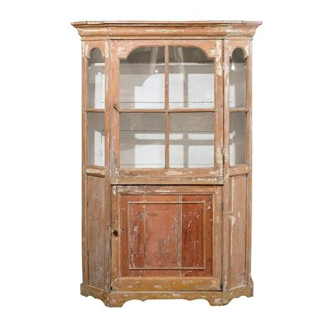 Curio Cabinets For Sale Philippines Dutch 1850s Curio Cabinet With Glass Door Over Wooden Door