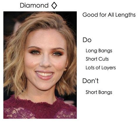 hairstyles for long diamond face 1000 ideas about diamond face shapes on pinterest face