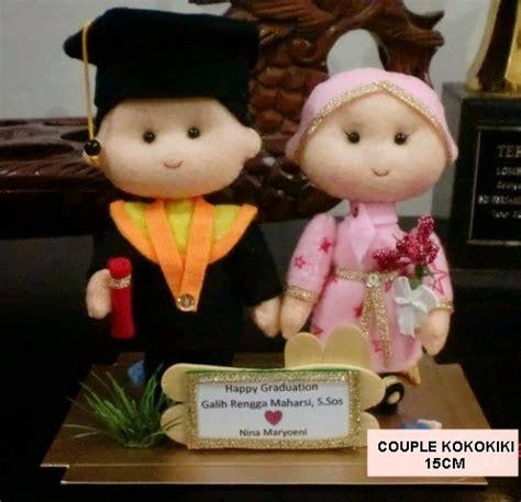 Boneka Wedding 25cm Boneka Pengantin Pasangan Beruang kabowi produsen boneka wisuda plakat souvenir graduation