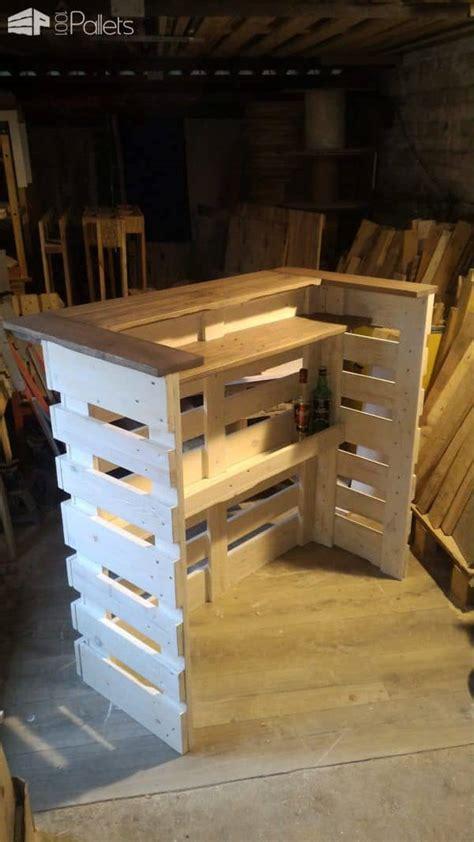 paletten bar pallet console bar 1001 pallets