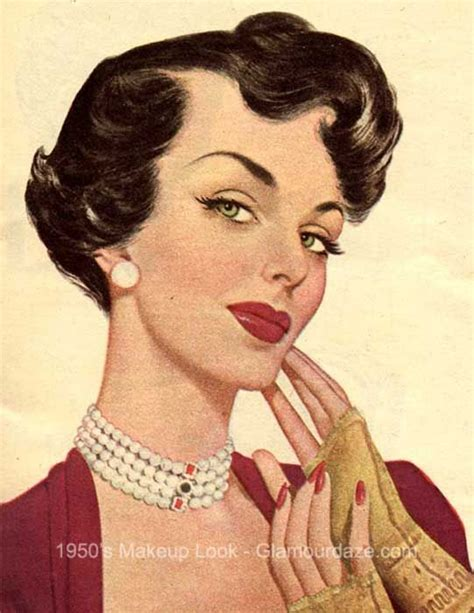 history of 1960s hairstyles 1950s makeup face retro beauty pinterest lashes