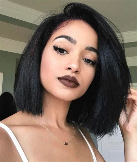 weaved lob hairstyle 98 best the lob images on pinterest braids black girls