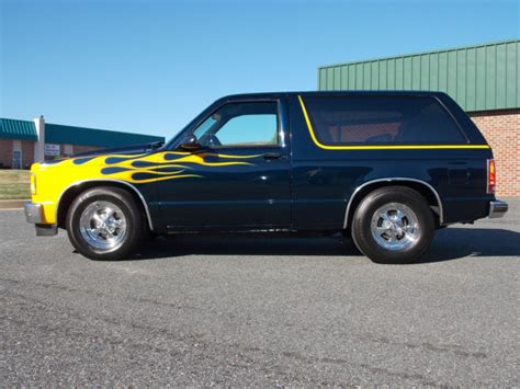 Jimmy Auto by Custom 1987 Gmc Jimmy Blazer S 10 No Rust V 6 Auto A