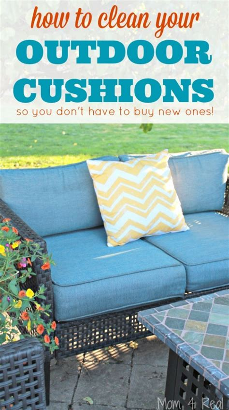How To Clean Outdoor Patio Furniture How To Clean Outdoor Cushions And Save Your Money 4 Real