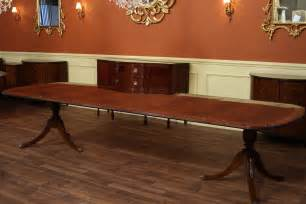 Drexel Dining Room Table high end dining table federal style 12 foot mahogany