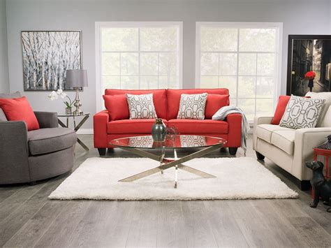 The Brick Living Room Furniture Designed2b Linen Look Fabric Accent Nesting Chair Sophisticate Aluminum The Brick