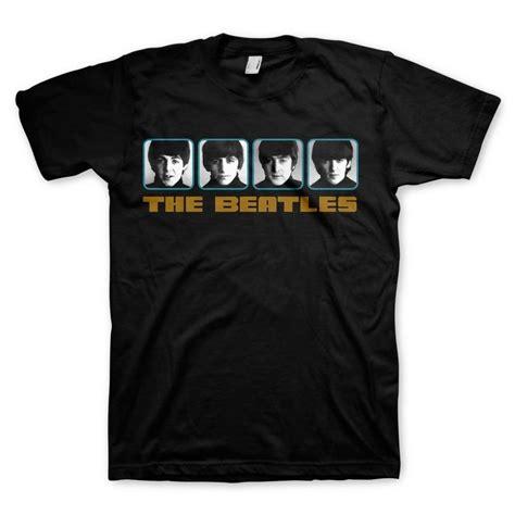 The Beatles Tshirt beatles 1964 portraits photo reel mens t shirt