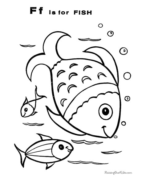 Fish Coloring Pictures 026 Color Book Pictures