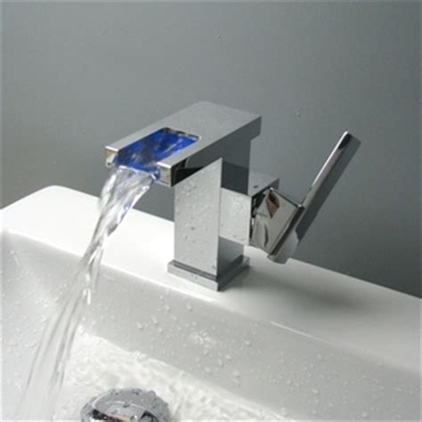 how to change bathroom sink taps contemporary color changing led waterfall bathroom sink tap t9001 t9001 163 89 99