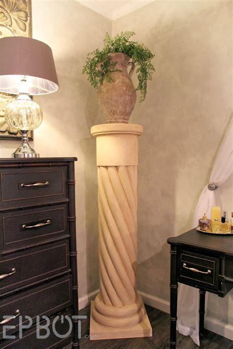diy columns epbot make your own quot quot decorative column with pool noodles