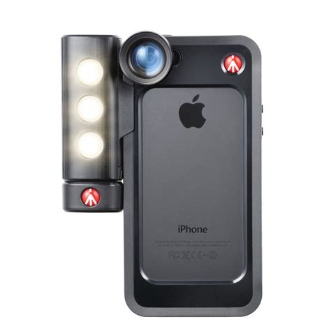 Manfrotto Mckly5s P Bumper For Iphone 5 5s Pink Manfrotto Kit Iphone 5 5s Se Luce Led E Bumper Nero Coverland Italia