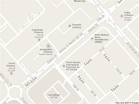 road map us embassy abu dhabi republic embassy in abu dhabi map