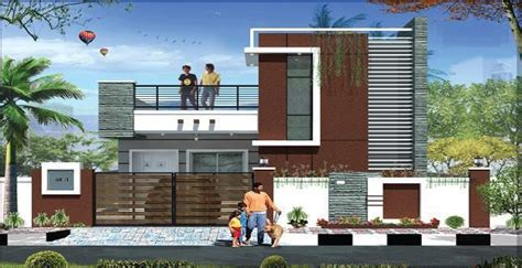 modern compound wall designs residential sai sri enclave 2bhk villas for sale in uppal mandal