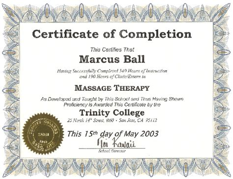 therapy certification therapist certificate picture image by