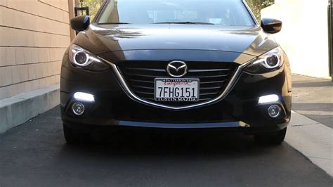 Mazda3 At Light by Switchback 22 Led Daytime Running Lights Turn Signal Ls