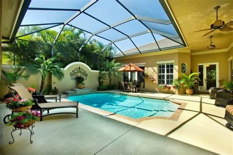 The Patio Vero Fl by Courtyard Patio Pool Design In Vero Florida