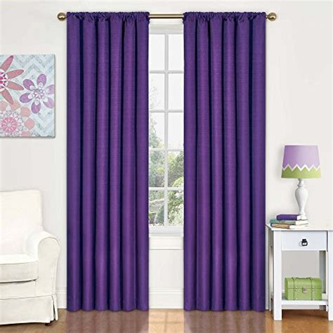 kids purple blackout curtains eclipse 10707042x084pur kendall 42 inch by 84 inch