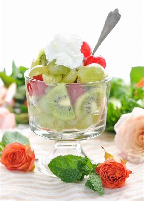 bridal shower fruit salad recipes mint julep fruit salad the seasoned