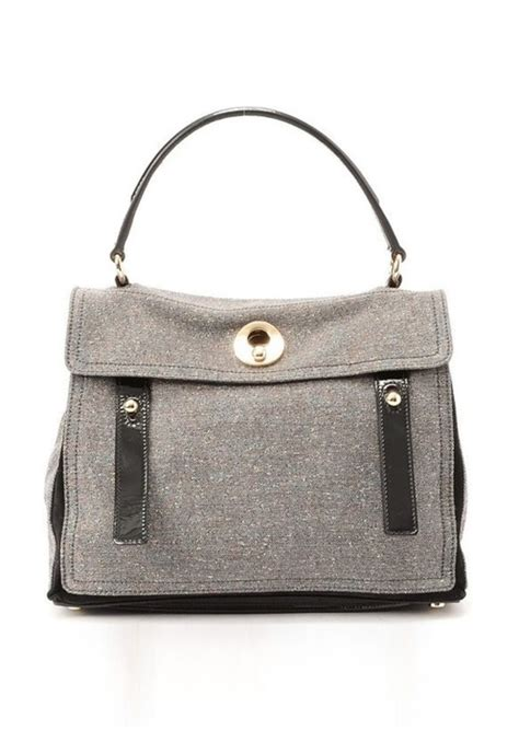 Yves Laurent Felt Muse Handbag by Yves Laurent Guaranteed Authentic Pre Owned Yves