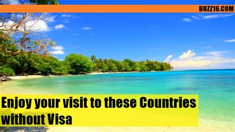 enjoy your visit to 15 countries without visa book