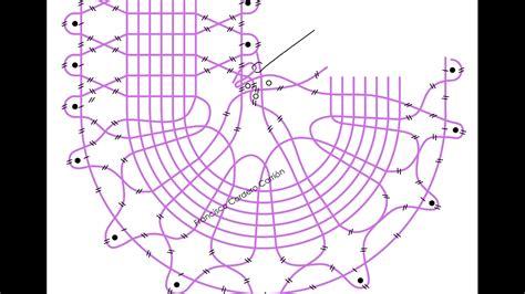 encaje de hinojosa patrones 028 encaje de hinojosa punto zurcido serpentina curva