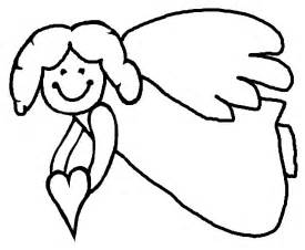 Activityvillage co uk christmas angel colouring page