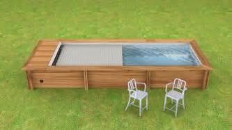 piscine urbaine 6 00mx2 50m avec couverture automatique