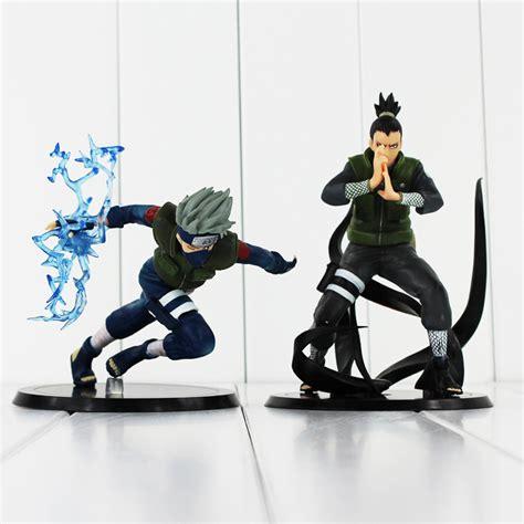 Figure Shikamaru Anime 2 styles 15cm nara shikamaru shippuden hatake kakashi pvc figure doll free shipping