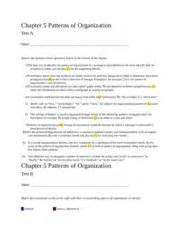 patterns of organization in reading practice c the freshman year of college is the most difficult 6
