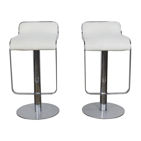 white modern stools 88 all modern all modern white leather bar stools