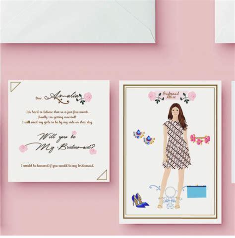 Kartu Bridesmaid Wedding paperpeace batik themes bridesmaid attire