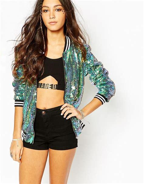 Maxima Mermaid Bomber Jacket Navy 25 sequin jacket ideas on sequin blazer