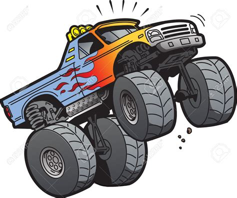 monster truck cartoon videos 0 images about monster truck on trucks clip art wikiclipart